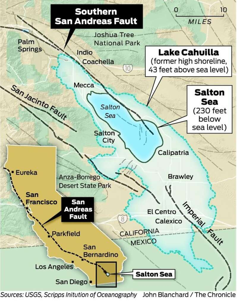 Big quake near Salton Sea may be long overdue SFGate