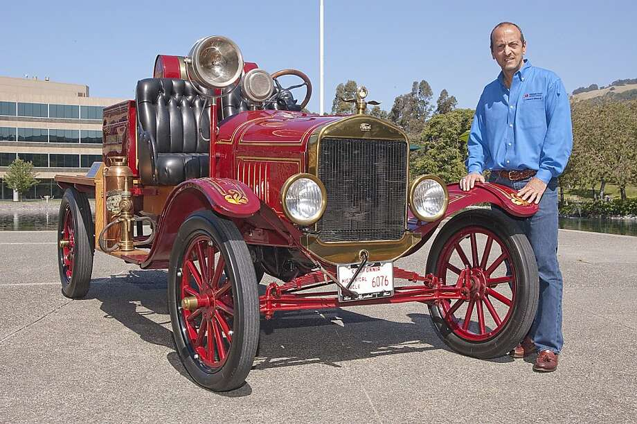 My Ride: 1923 Model T Ford Fire Truck - SFGate