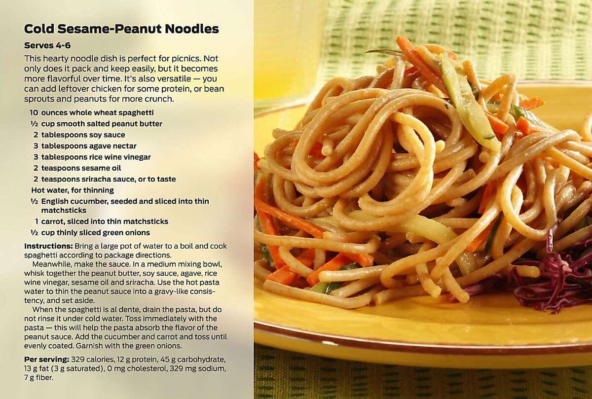 Cold Sesame-Peanut Noodles