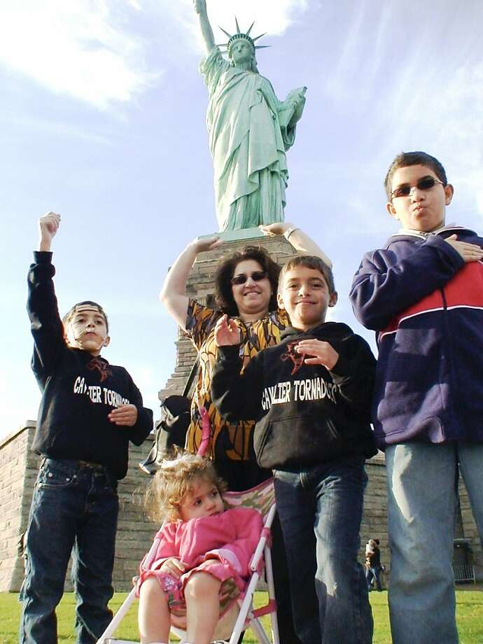 CITIZEN U.S.A.: A 50 STATE ROAD TRIP: Ghina Abul-Khoudoud. Photo: Alexandra Pelosi, Courtesy Of HBO