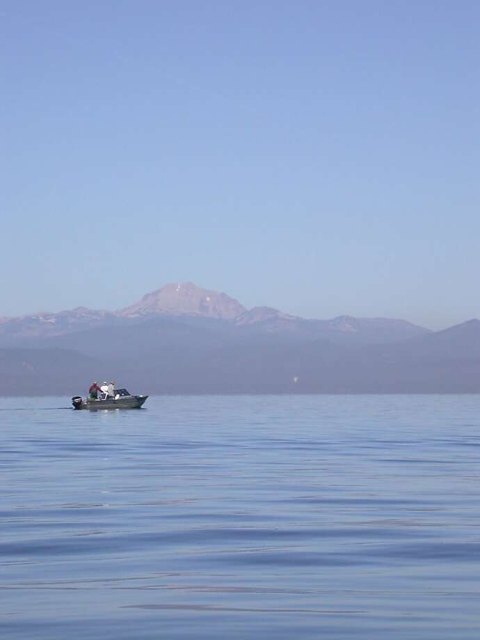 Top trout lakes hold promise but watch that fishing line for Lake almanor fishing report