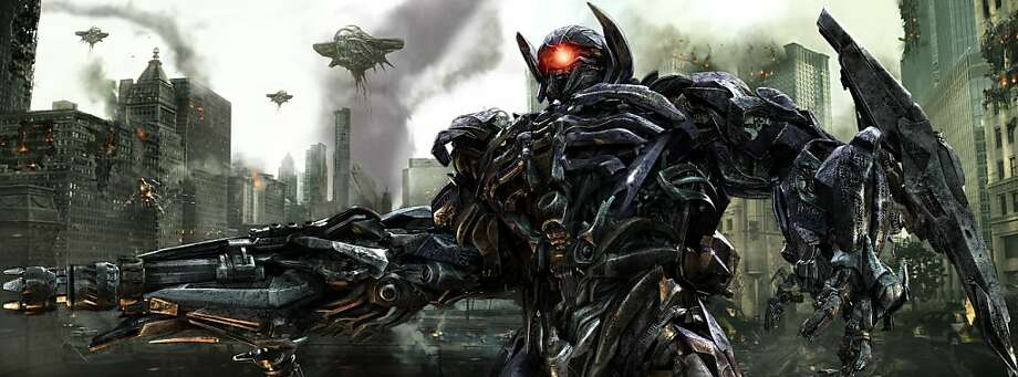 Shockwave in TRANSFORMERS: DARK OF THE MOON, from Paramount Pictures. Photo: Paramount Pictures