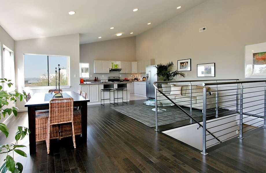 Featured open homes berkeley sfgate - Kitchen dining room and living room all open ...