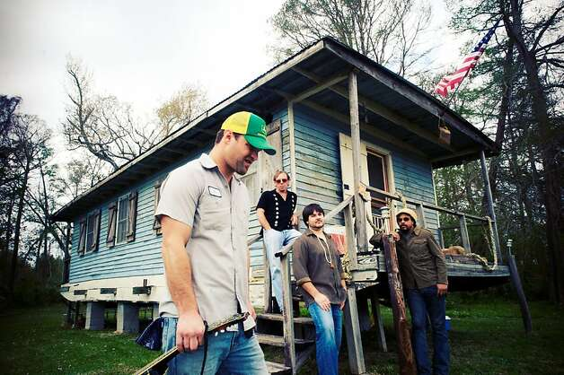 Honey Island Swamp Band features, left to right, Aaron Wilkinson, Sam Price, Chris Mule (ACCENT) and Garland Paul. Photo: Courtesy Honey Island Swamp Band