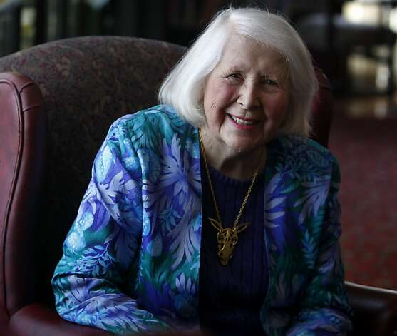Jane Morrison, a longtime fixture in the local Democratic Party, was honored by the Irish American Democratic Club in San Francisco, Calif. on Saturday, May 21, 2011. Photo: Paul Chinn, The Chronicle