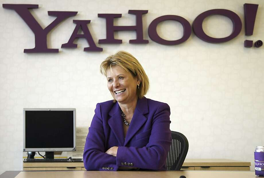 Carol Bartz, president and chief executive officer of Yahoo! Inc., speaks during an interview at company headquarters in Sunnyvale, California, U.S., on Wednesday, Jan. 6, 2010. Yahoo! Inc. is close to selling its Zimbra unit at a loss to VMware Inc., theAll Things D Web site reported, citing officials it didn't name. Photographer: Tony Avelar/Bloomberg *** Carol Bartz *** Photo: Tony Avelar, Bloomberg News