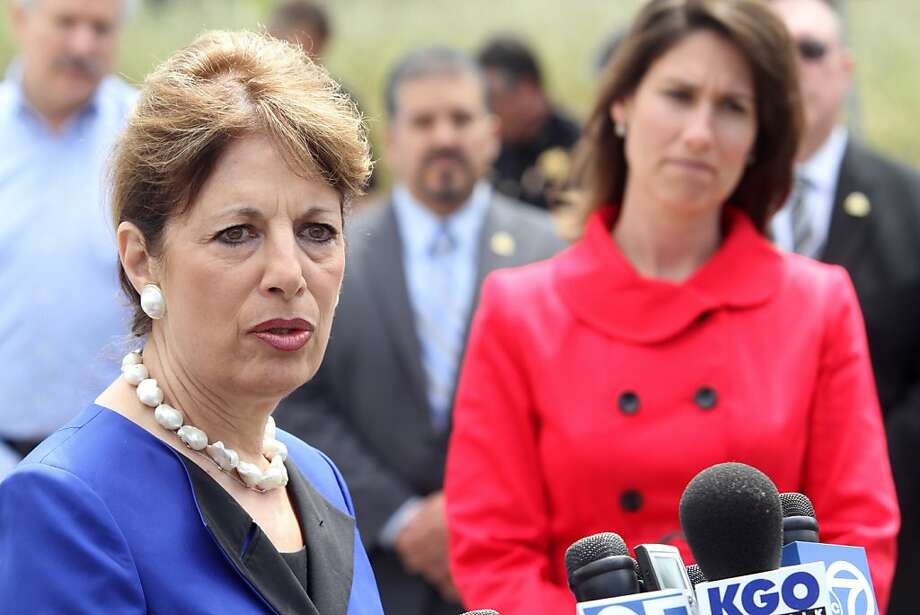 Congresswoman Jackie Speier (D-San Francisco/San Mateo) answers a reporter's question during a news conference on Wednesday, June 8, 2011 about issues related to the deadly natural gas explosion that happened last Sept. in San Bruno, Calif. Photo: Mathew Sumner, Special To The Chronicle