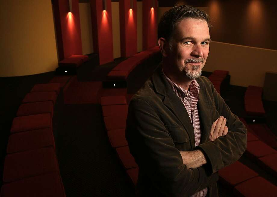 Reed Hastings, the founder and CEO of Netflix, at company headquarters in Los Gatos, Calif., on Thursday Dec. 18, 2008 Photo: Michael Macor, The Chronicle
