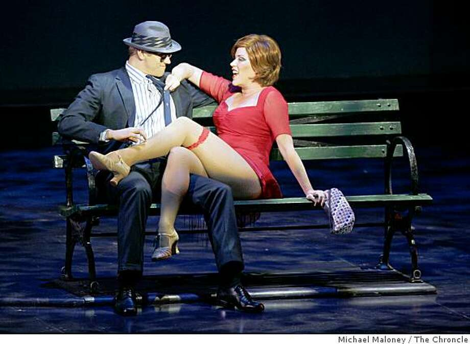 Adam Perry and Molly Ringwald The Broadway musical 'Sweet Charity' starring Molly Ringwald is playing at the American Musical Theatre of San Jose from September 19 to October 1. Photo: Michael Maloney, The Chroncle