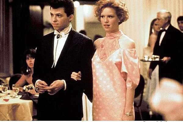 """Pretty in Pink,"" Jon Cryer, Molly Ringwald, 1986"