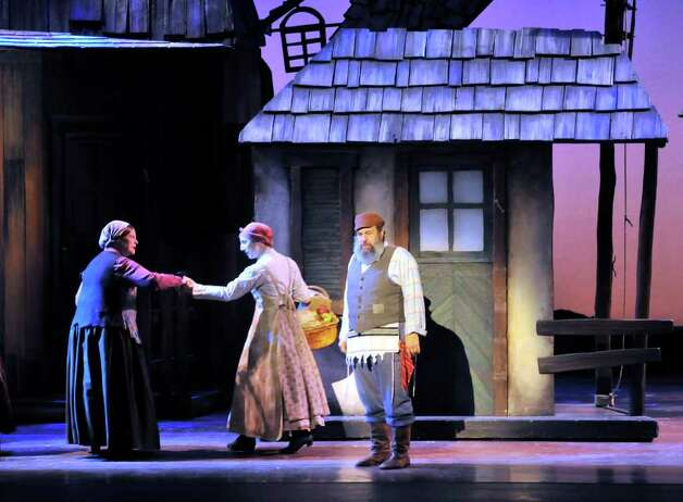 "John Preece stars as Tevye in the touring production of ""Fiddler on the Roof,""  playing through Sunday  at  Majestic Theatre. Photo: For The Express-News, Robin Jerstad"