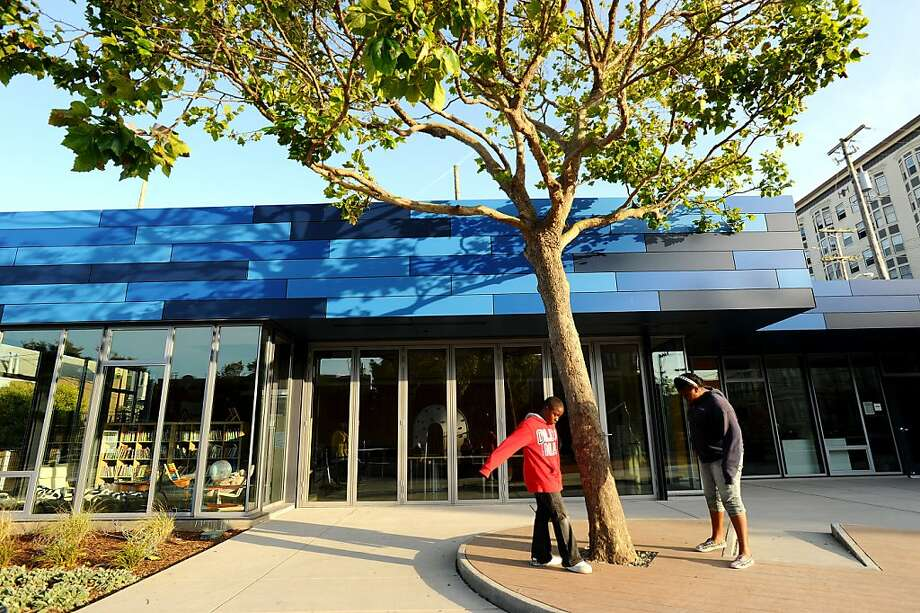 A newly rebuilt clubhouse is pictured at Hayes Valley Playground on Thursday, June 16, 2011, in San Francisco. Photo: Noah Berger, Special To The Chronicle