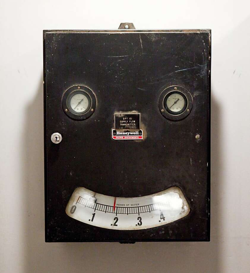 A water meter, seen on Tuesday, May 24, 2011 in San Francisco, Calif., is one of event planner Lewis Sykes' objects of affection. Photo: Russell Yip, The Chronicle