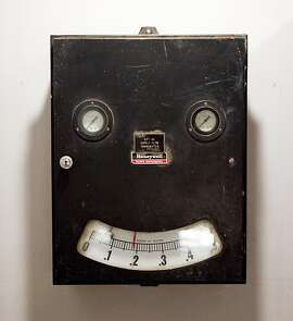A water meter, seen on Tuesday, May 24, 2011 in San Francisco, Calif., is one of event planner Lewis Sykes' objects of affection.