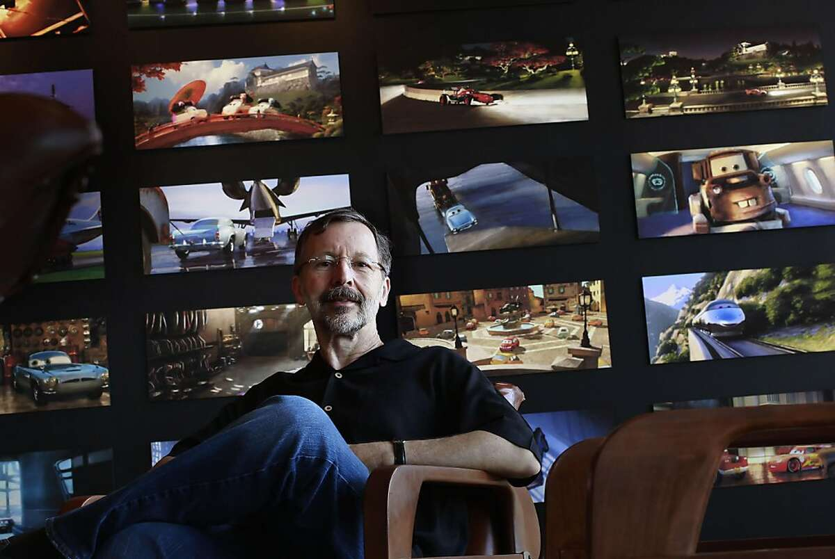 The President of Walt Disney Animation Studios and Pixar Animation Studios, Ed Catmull at company headquarters, in Emeryville, Ca. on Thursday June 9, 2011.