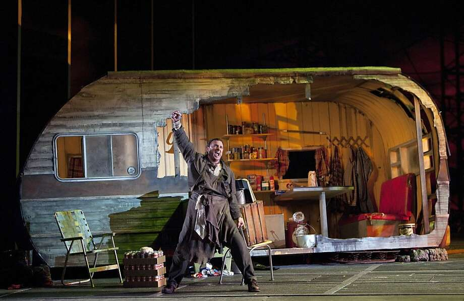 "David Cangelosi (Mime) appears in a scene from, ""Siegfried,"" part of the SF Opera's presentation of the The Ring of Nibelung. Photo: Cory Weaver, SF Opera"