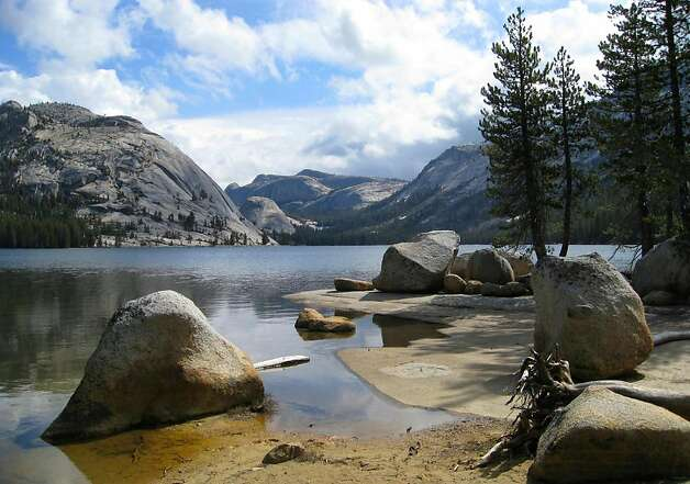 Tenaya Lake's postcard views are a popular draw with visitors. Yosemite Conservancy is contributing $850,000 for initial improvements to the lakeês East Beach area. Photo: Mithun, Special To The Chronicle