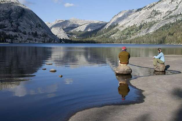 Tenaya Lake's postcard views are a popular draw with visitors. Yosemite Conservancy is contributing $850,000 for initial improvements to the lakeês East Beach area. Photo: Keith Walklet, Special To The Chronicle