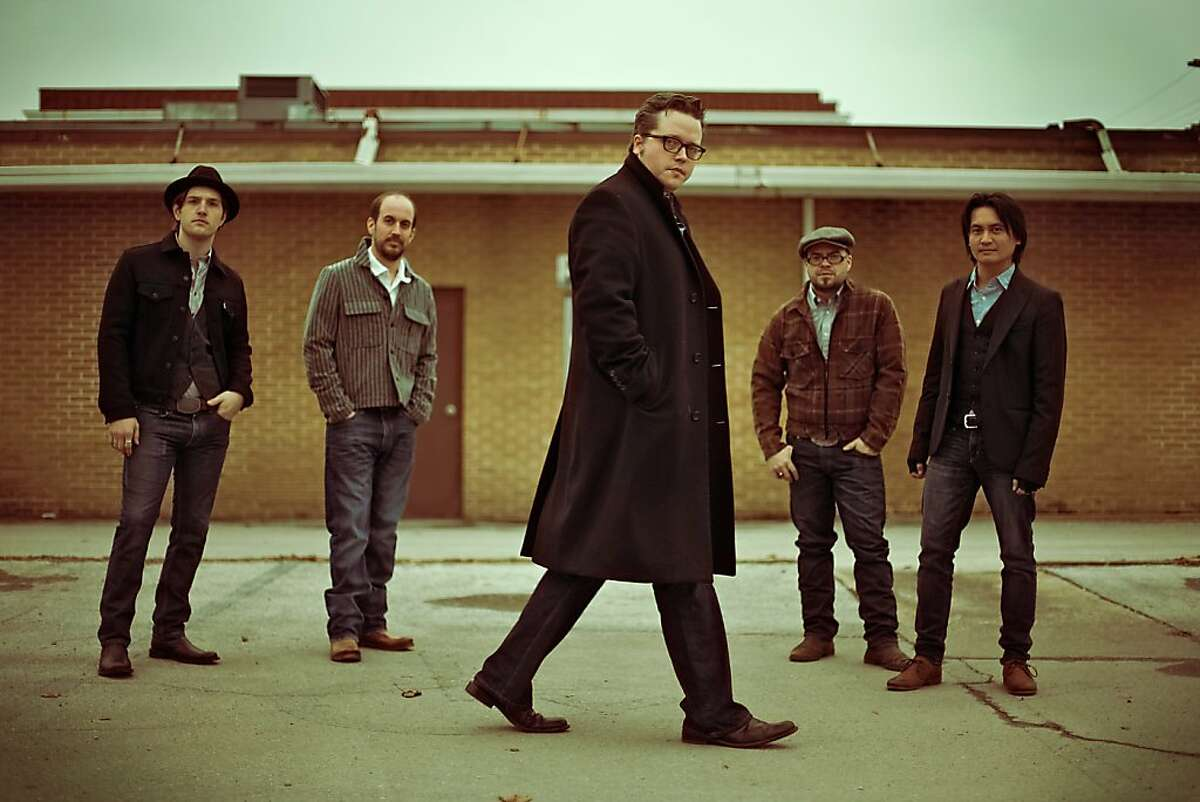 Jason Isbell (center) and the 400 Unit.