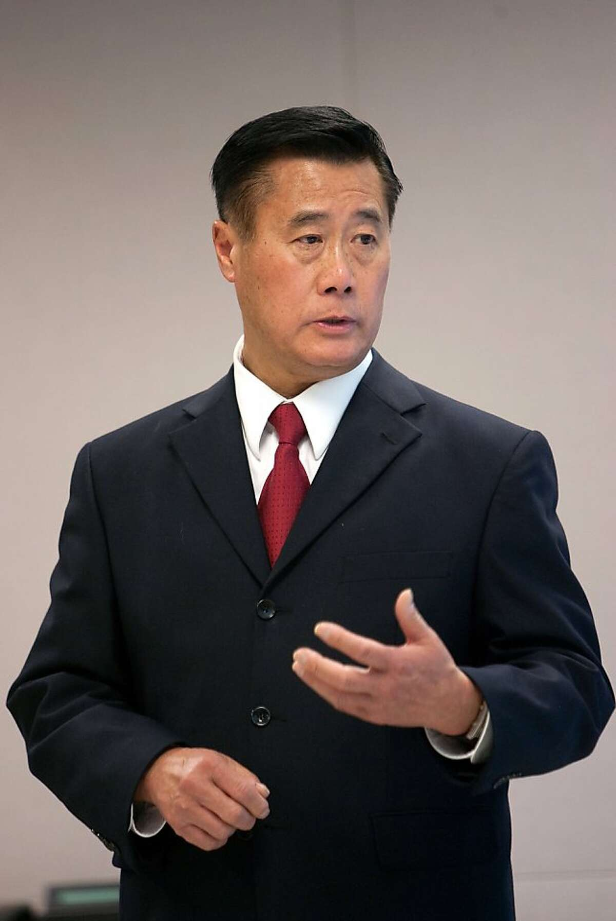 One of S.F's mayoral candidates 2011: Leland Yee -- Veteran state legislator, former supervisor and school board member who's scooped up labor endorsements.