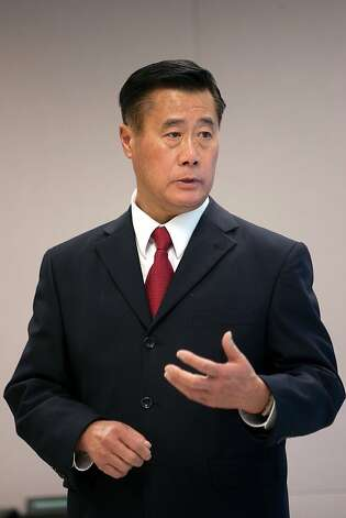 One of S.F's mayoral candidates 2011: Leland Yee -- Veteran state legislator, former supervisor and school board member who's scooped up labor endorsements. Photo: David Paul Morris, Special To The Chronicle