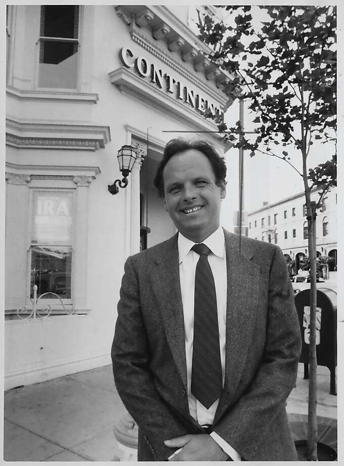 Walter Lembi, 63, died from cancer of the esophagus, Tuesday afternoon. Lembi, a San Francisco realtor,  was a partner of the Lembi Group, which at one time owned more that 300 apartment buildings in San Francisco.  Photo was taken: 04/19/1985. Photo: Pete Breinig, San Francisco Chronicle