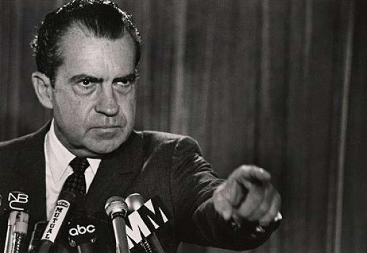 Richard Nixon in 1973 Ran on: 06-12-2011 Richard Nixon, shown in 1973. Ran on: 06-12-2011 Richard Nixon, shown in 1973.