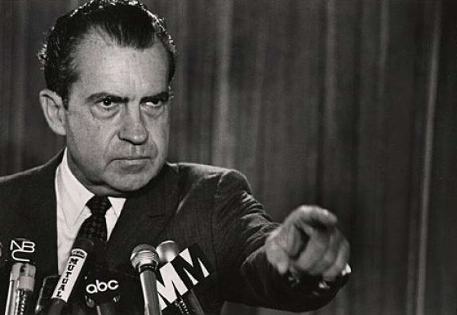 Richard Nixon in 1973   Ran on: 06-12-2011 Richard Nixon, shown in 1973. Ran on: 06-12-2011 Richard Nixon, shown in 1973. Photo: Businessweek.com