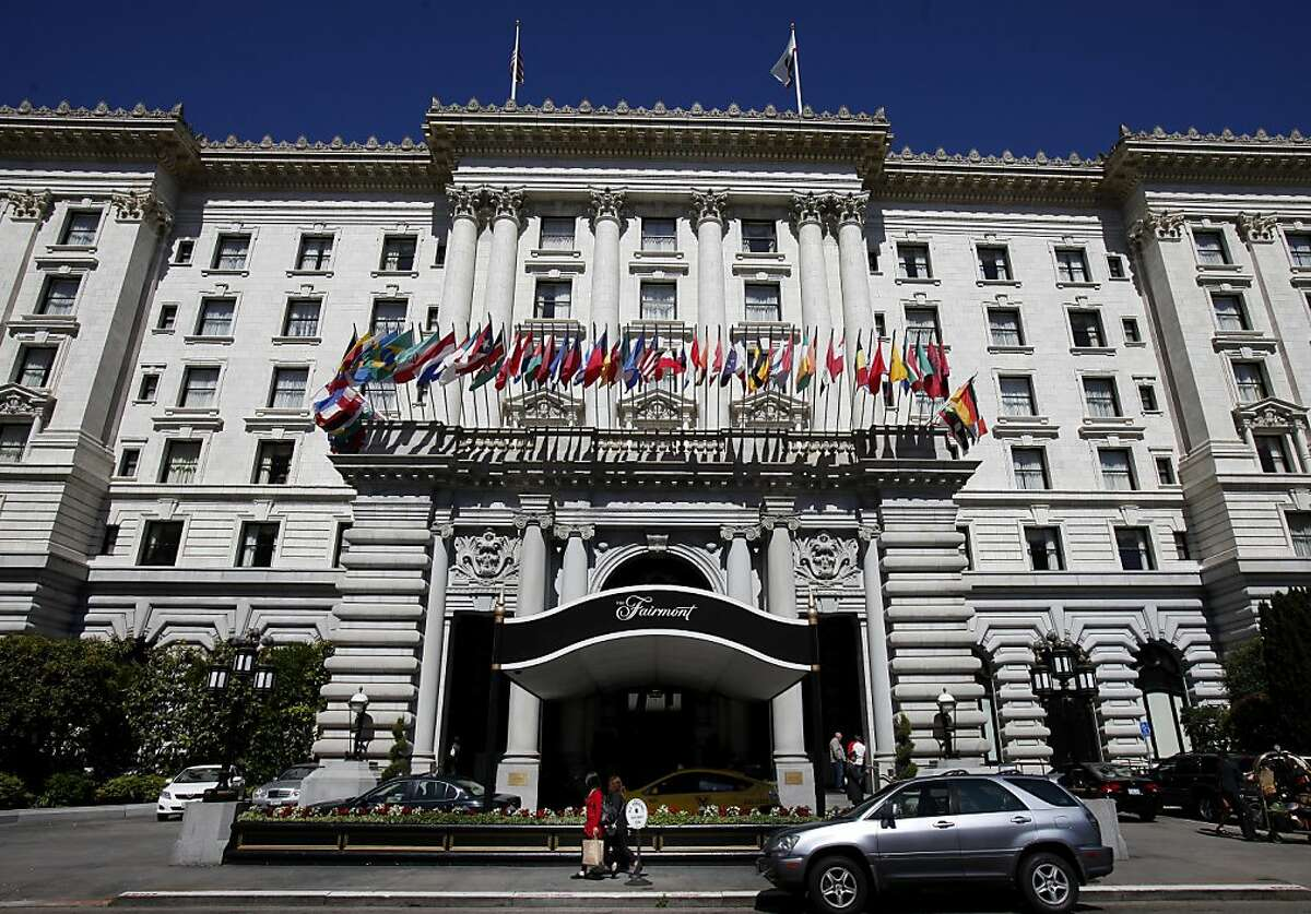 The Fairmont Hotel on Nob Hill is full of history and has hosted many dignitaries in the past. The Fairmont Hotel, one of the most famous hotels in San Francisco, Calif is being put up for sale.