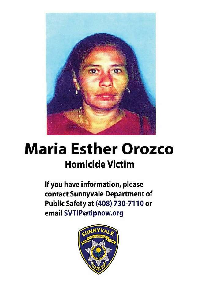 Maria Esther Orozco, whose body was found in a garbage bag in a front yard in Sunnyvale on June 5, 2011. Police say she was the victim of head trauma. Photo: Department Of Motor Vehicles