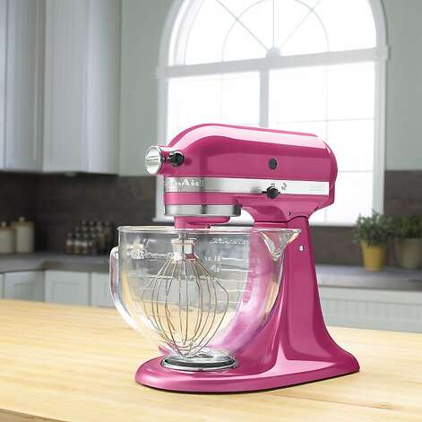 Kitchen Aid Raspberry Ice mixer. Photo: KitchenAid / SF