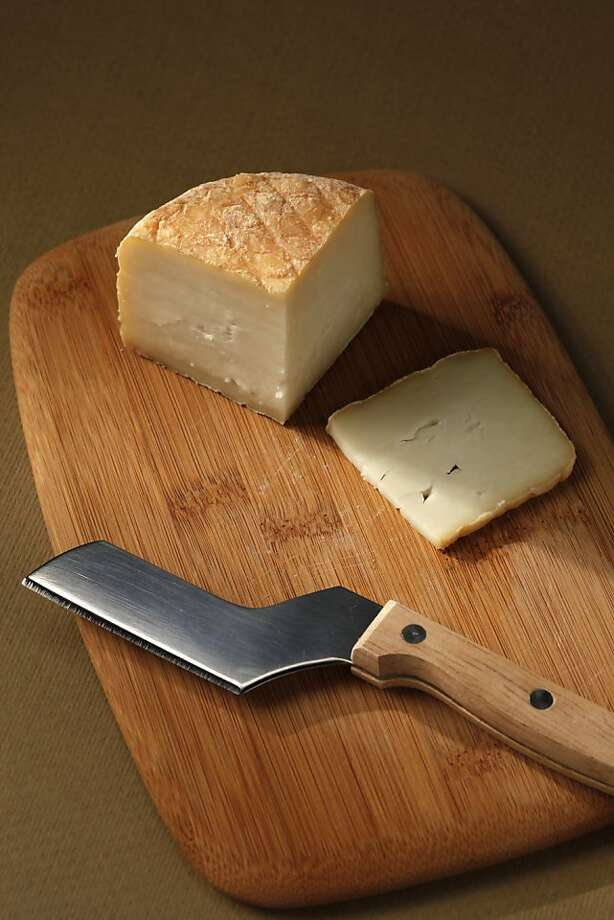Mont St. Francis cheese is richly aromatic, redolent of aged beef and barnyard. Photo: Craig Lee, Special To The Chronicle