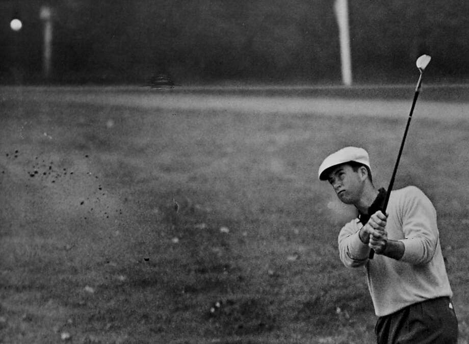 Ken Venturi golds at the 56th Amateur Championship at Knellwood, sept. 12 1956. Photo: Chronicle File