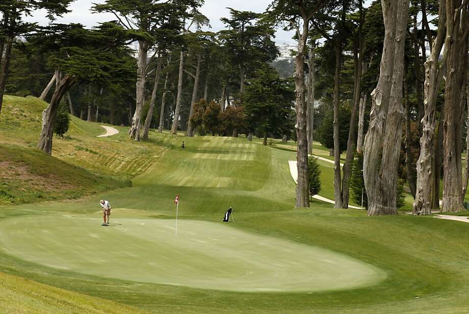 The 8th green at the Olympic Club one year ahead of its hosting the U.S. Open, in San Francisco, California, on Tuesday, June 7, 2011. Photo: Craig Lee, Special To The Chronicle
