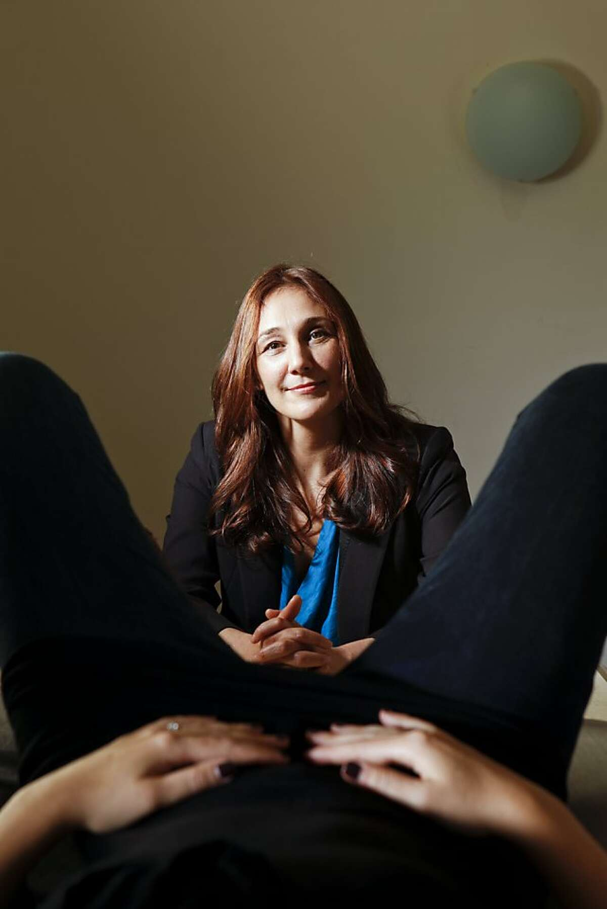 Nicole Daedone, CEO and founder of OneTaste, is seen in her Russian Hill home office on Wednesday, May 18, 2011 in San Francisco, Calif.