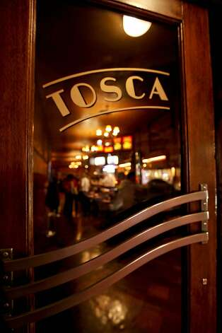 Tosca Cafe, near the corner of Broadway and Columbus in San Francisco, Calif., on November 13, 2009,. The cafe will soon celebrate it's 90th birthday in business. Photo: Michael Macor, The Chronicle