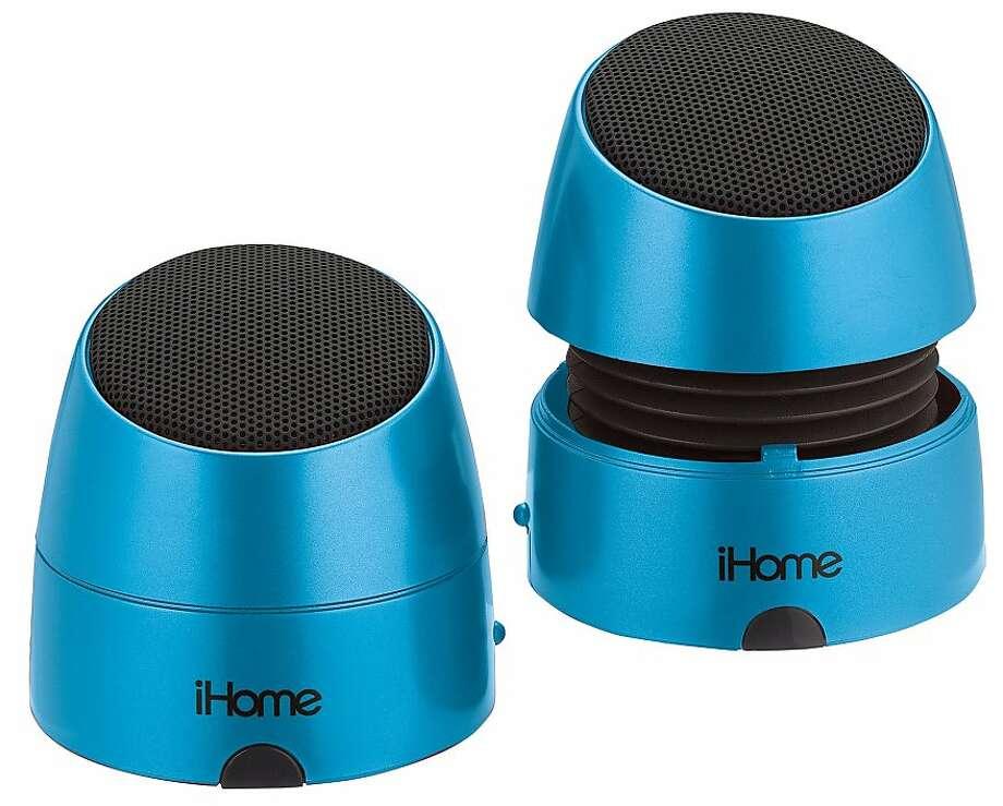 Ihome Ihm79 Mini Speakers Gear Review Sfgate