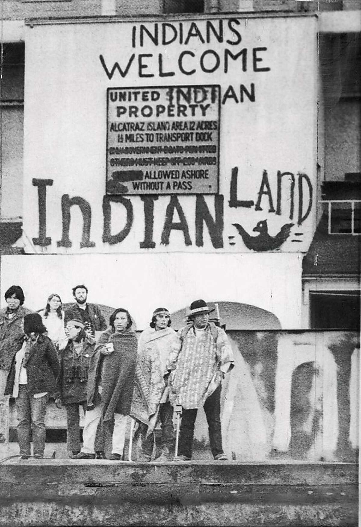 Alcatraz was taken over by American Indians in 1969 and drew 10,000 to 15,000 Indians during a 19-month period.