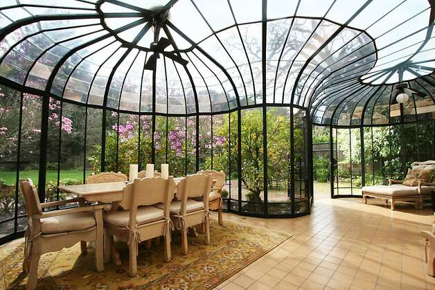 Elegant The Solarium Provides An Outdoor Eating Option And Opens Into The  Landscaped Backyard. Photo: