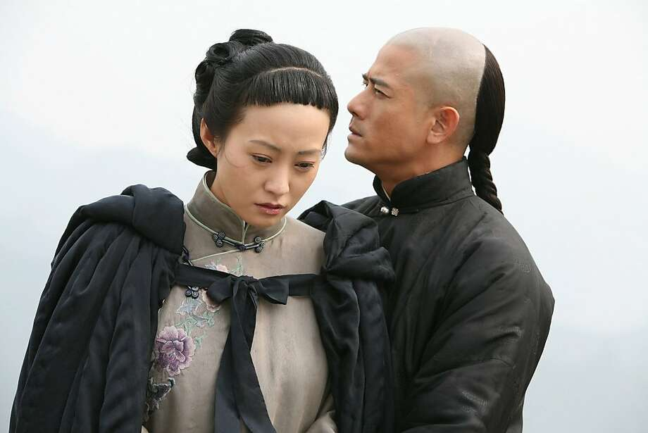 A scene from Christina Yao's EMPIRE OF SILVER, playing at the 53rd San Francisco International Film Festival, April 22 - May 6, 2010. Hao Lei, left, and Aaron Kwok Photo: S.F. International Film Festival