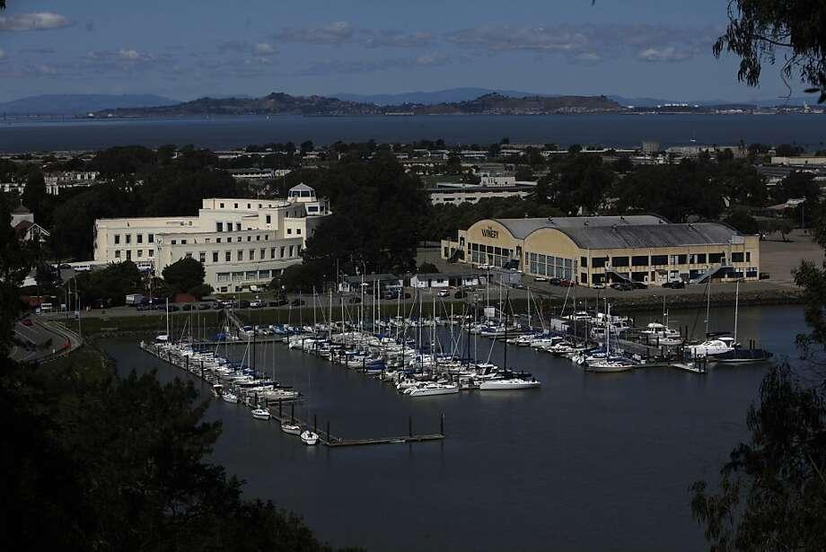 The Treasure Isle Marina is seen through trees on Monday, March 28, 2011 in Treasure Island, San Francisco, Calif. Photo: Lea Suzuki, The Chronicle