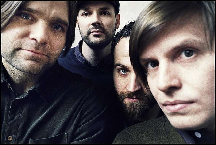 Death Cab for Cutie performs tonight at the Fillmore. Photo: Atlantic Records