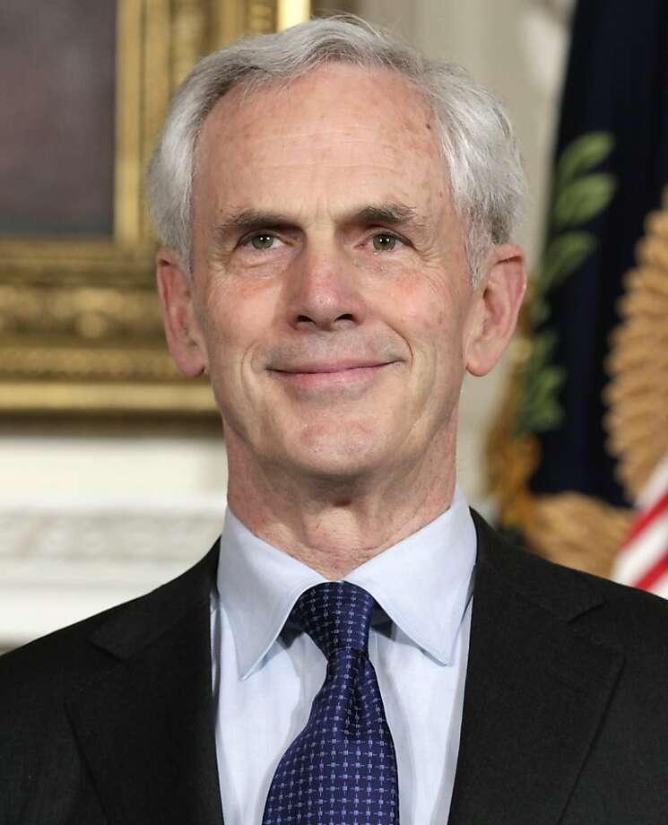 John Bryson, President Barack Obama's choice to become Commerce Secretary, is seen in the State Dining Room of the White House, Tuesday, May 31, 2011, where President Barack Obama made the announcement. Photo: Carolyn Kaster, AP