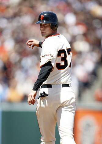 San Francisco Giants' Brandon Crawford as the San Francisco Giants take on the Florida Marlins at AT&T Park in San Francisco, Calif., on Thursday, May 26, 2011. Photo: Thomas Levinson, The Chronicle