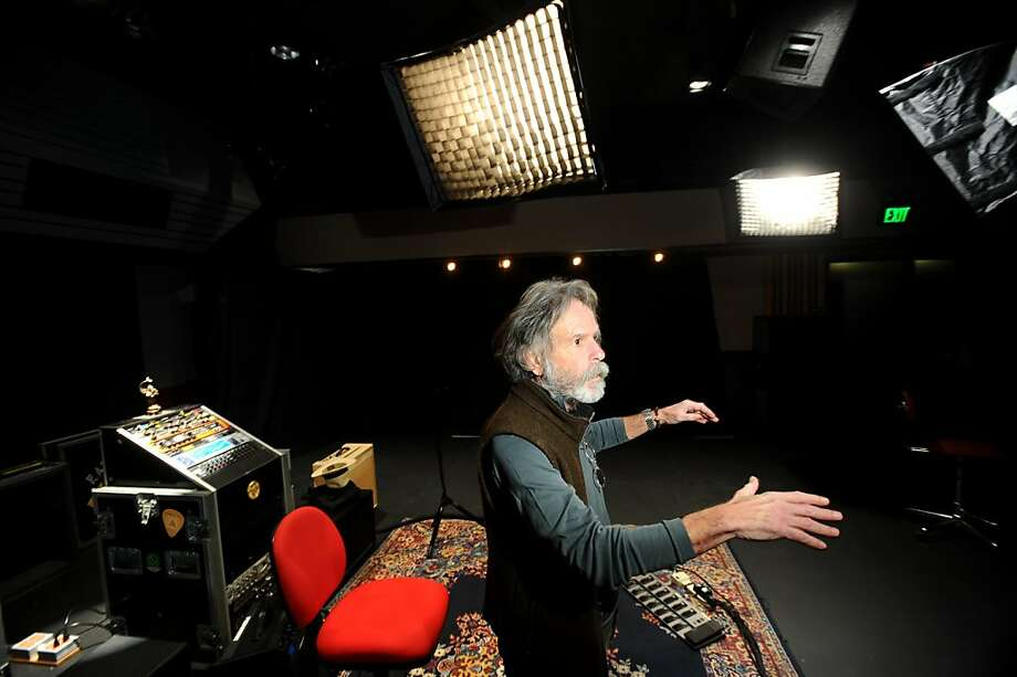 Bob Weir of the Grateful Dead discusses the main recording room at TRI Studios on Wednesday, May 26, 2011, in San Rafael, Calif. Photo: Noah Berger, Special To The Chronicle