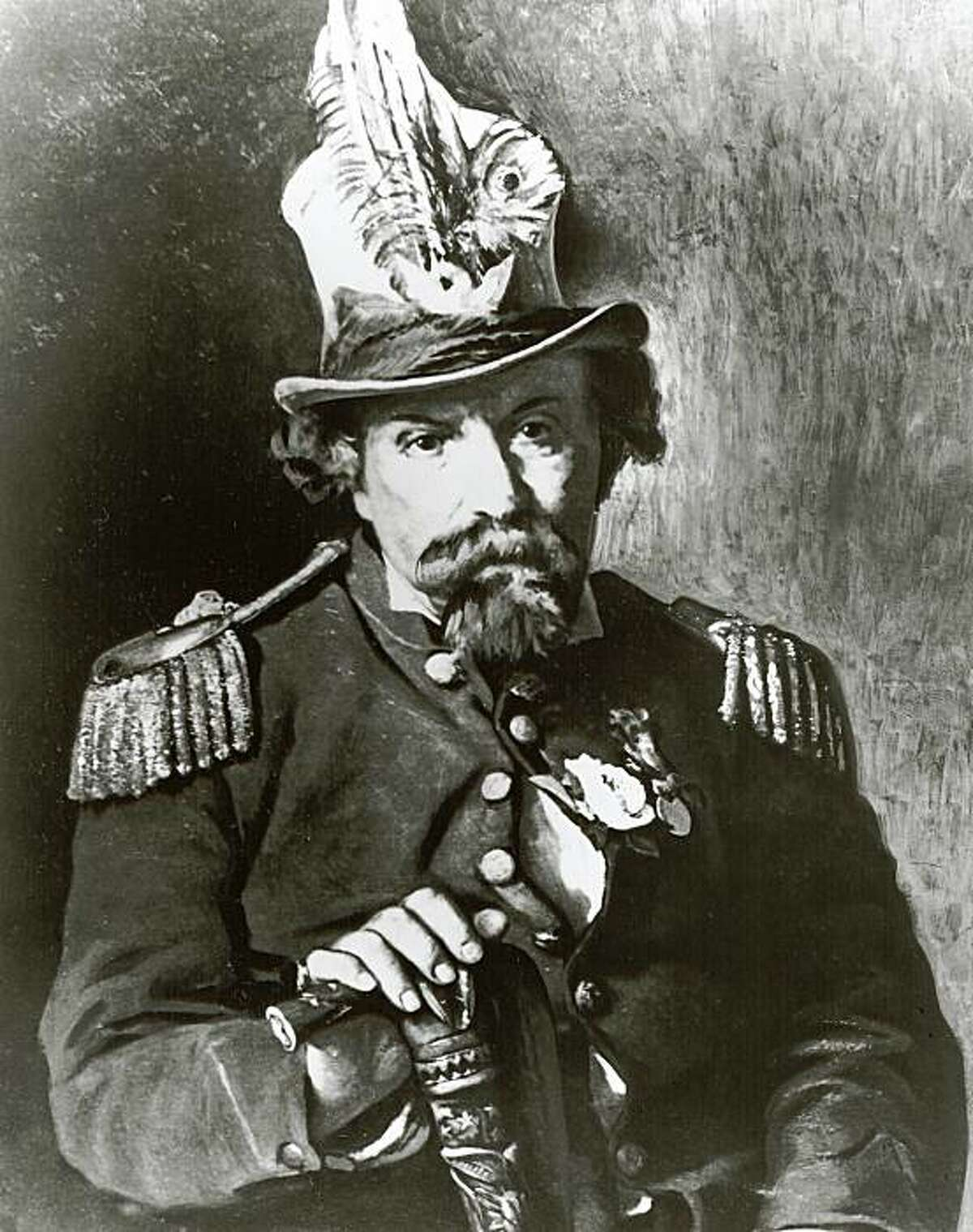 norton_2.JPG June 29, 1959- Emperor Norton- Emperor of the United States and Protector of Mexico. /staff photographer