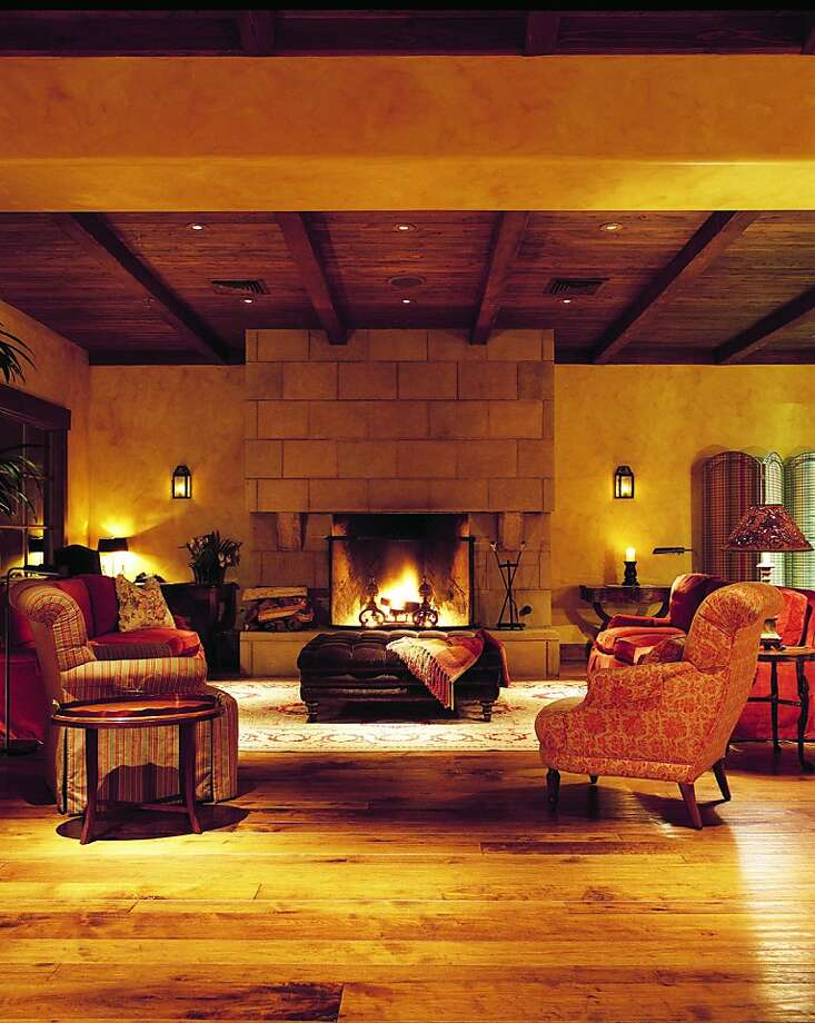The lobby at Bernardus Lodge Monterey Ca Photo: Courtesy Of Bernardus Lodge