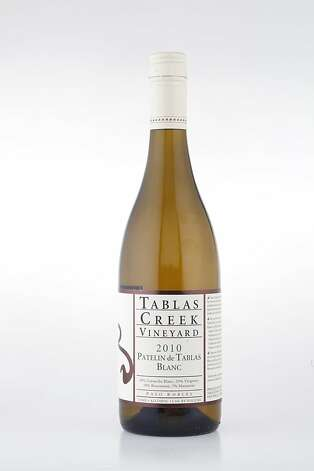 2010 Tablas Creek Patelin de Tablas Blanc Paso Robles White ($20, 13.5%) Photo: Craig Lee, Special To The Chronicle