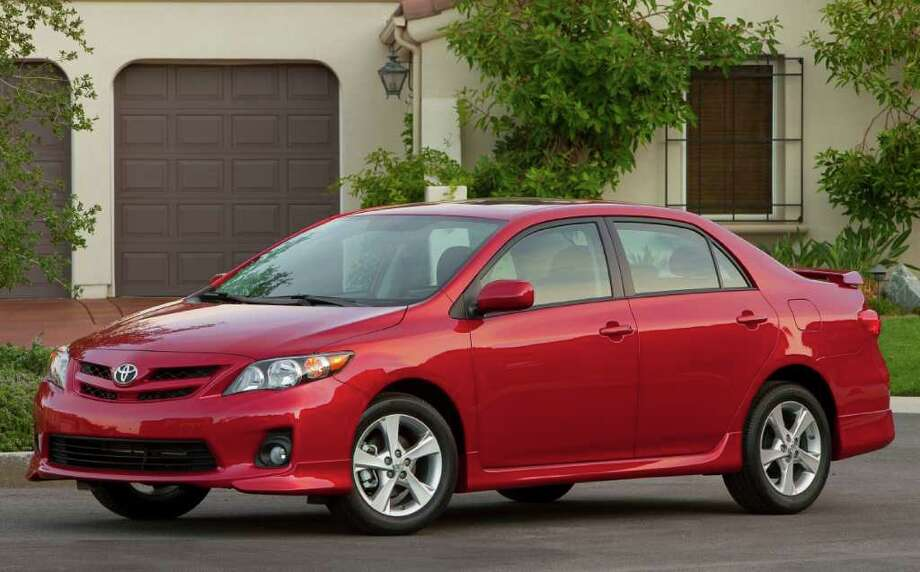 The Toyota Corolla sedan for 2012 has a starting price of $16,130, ranging up to $18,600. Under the hood is a 1.8-liter four-cylinder engine. COURTESY OF TOYOTA MOTOR SALES U.S.A. Photo: Toyota Motor Sales U.S.A., COURTESY OF TOYOTA MOTOR SALES U.S.A.