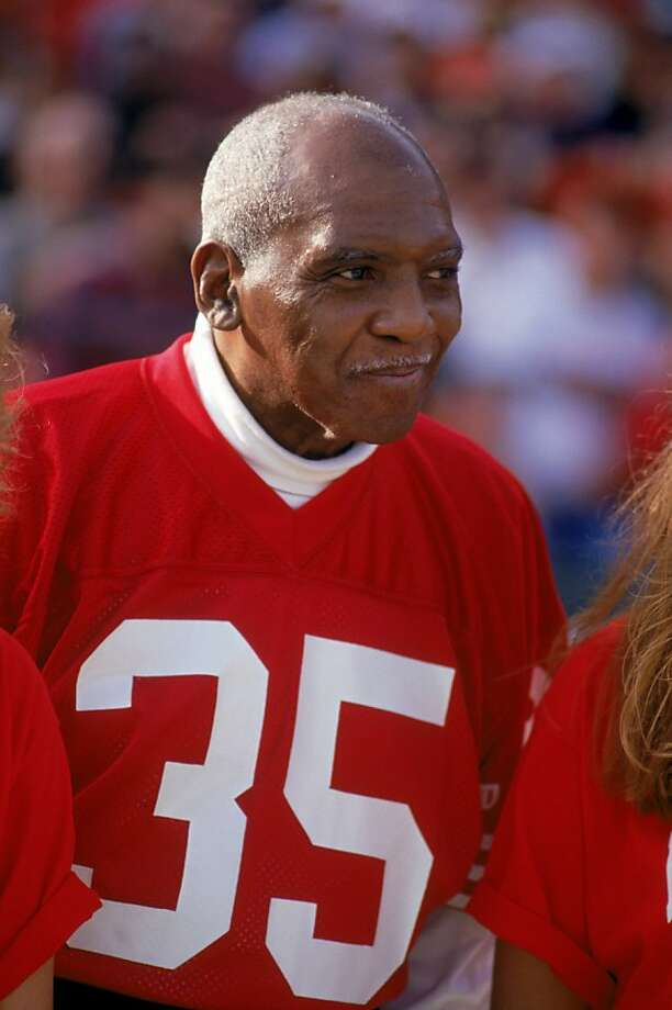 SAN FRANCISCO - NOVEMBER 15:  Hall of famer and former San Francisco 49ers John Henry Johnson attends the 49ers and the New Orleans Saints game at Candlestick Park on November 15, 1992 in San Francisco, California.  The 49ers won 21-20. Photo: George Rose, Getty Images